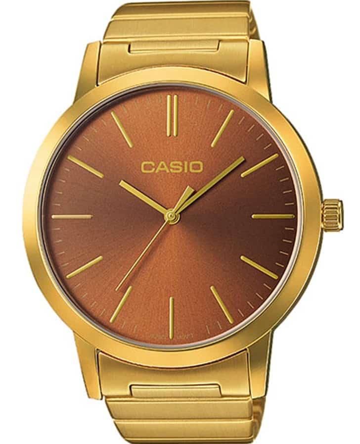 a8a0ca78595e RELOJ CASIO VINTAGE PARA CABALLERO LTP-E118G-5AVT - Tienda de Reloj ...